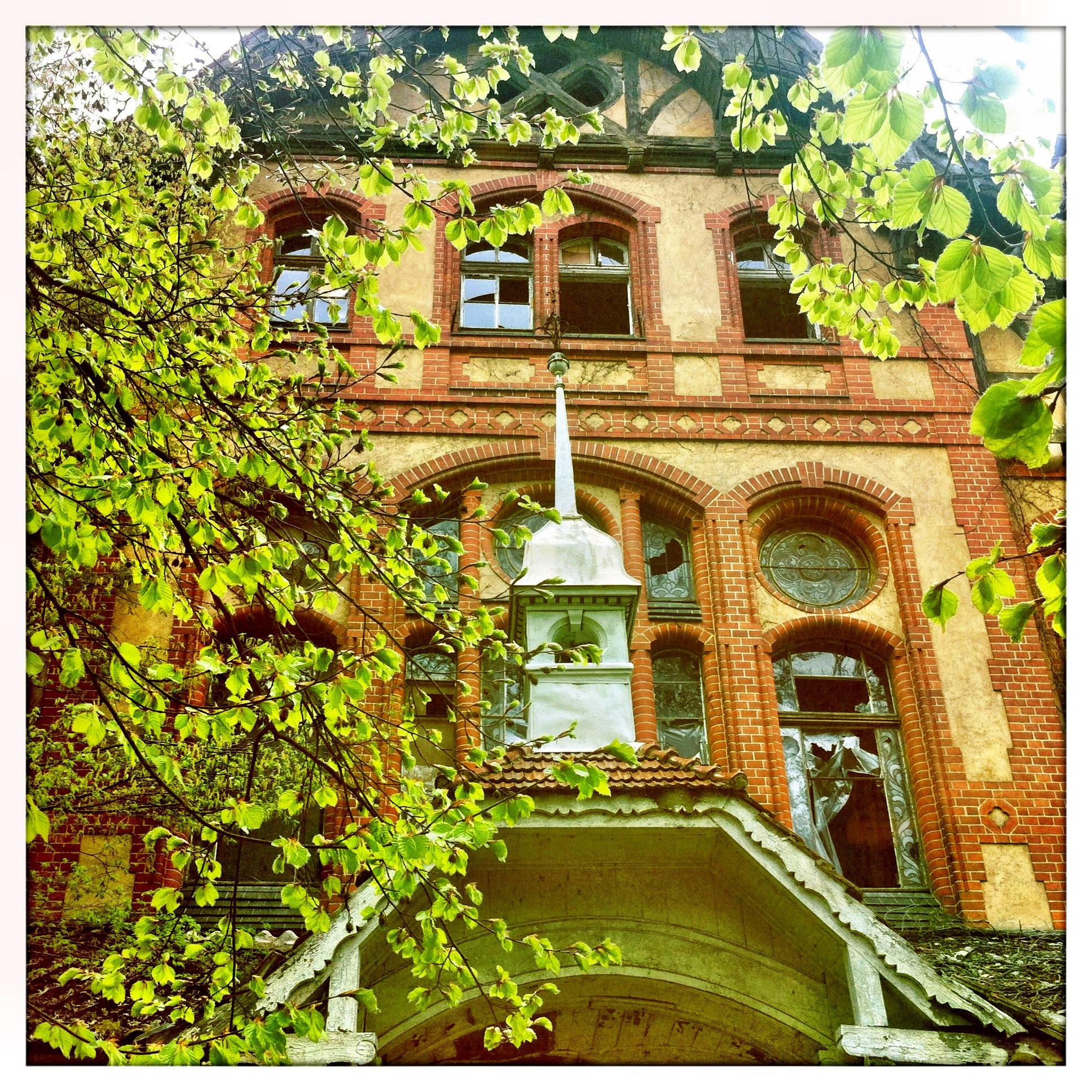 Brandenburg | Beelitz Heilstätten Eigangsbereich