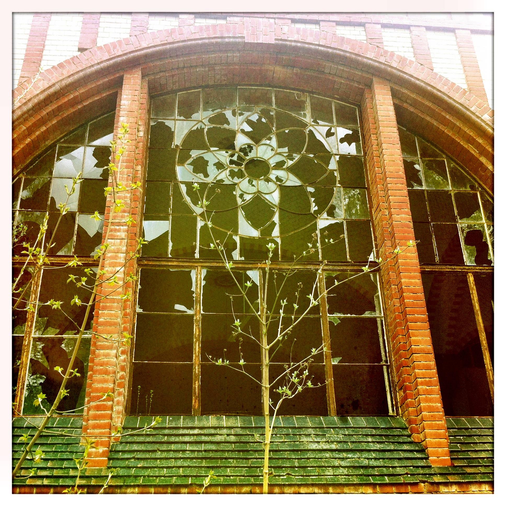 Brandenburg | Beelitz Heilstätten Rundbogenfenster