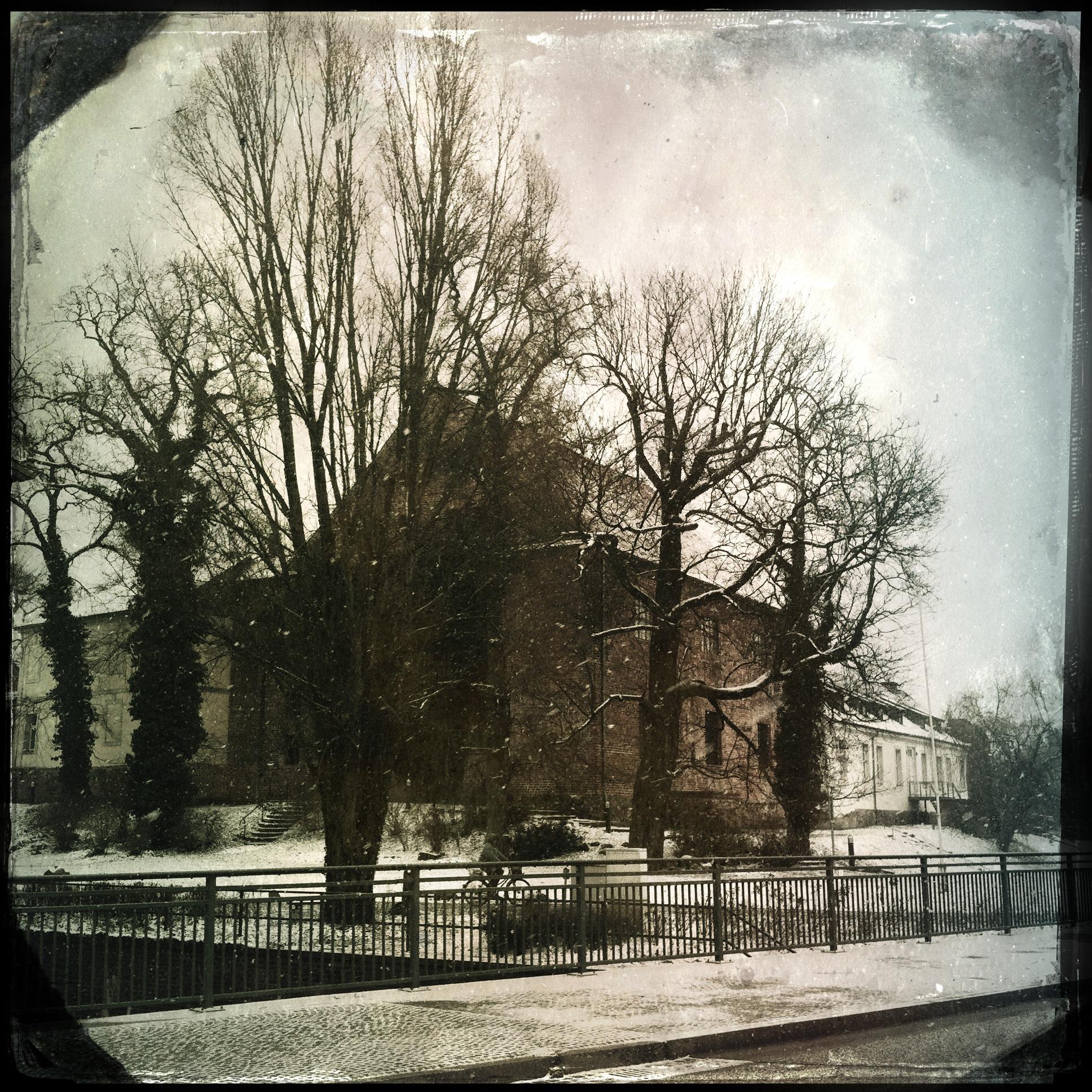 Brandenburg Beeskow l Blick auf die Burg