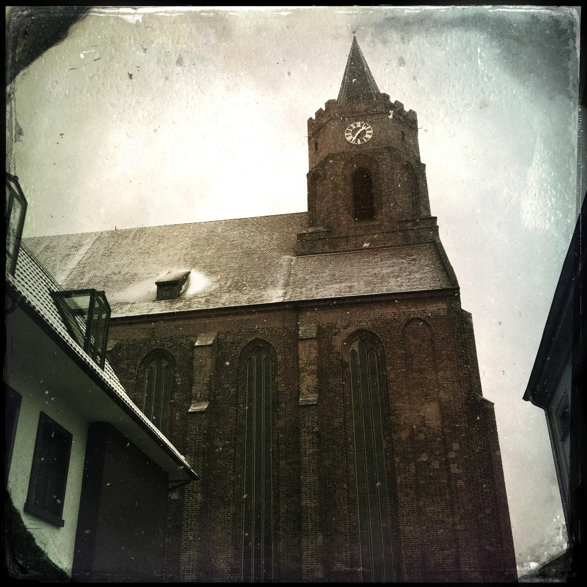 Brandenburg Beeskow l Blick auf die Marienkirche