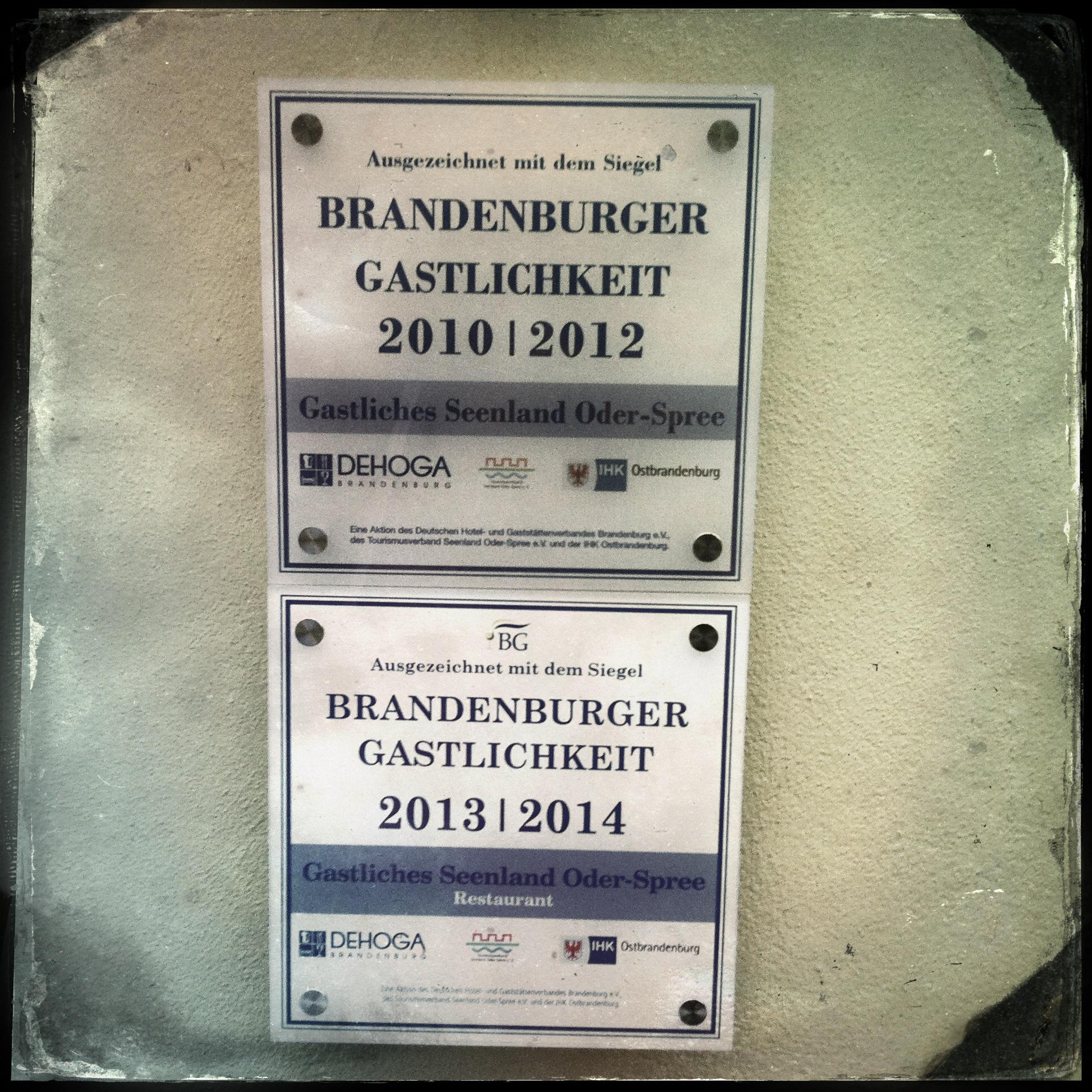 Brandenburg Beeskow l Brandenburger Gastlichkeit