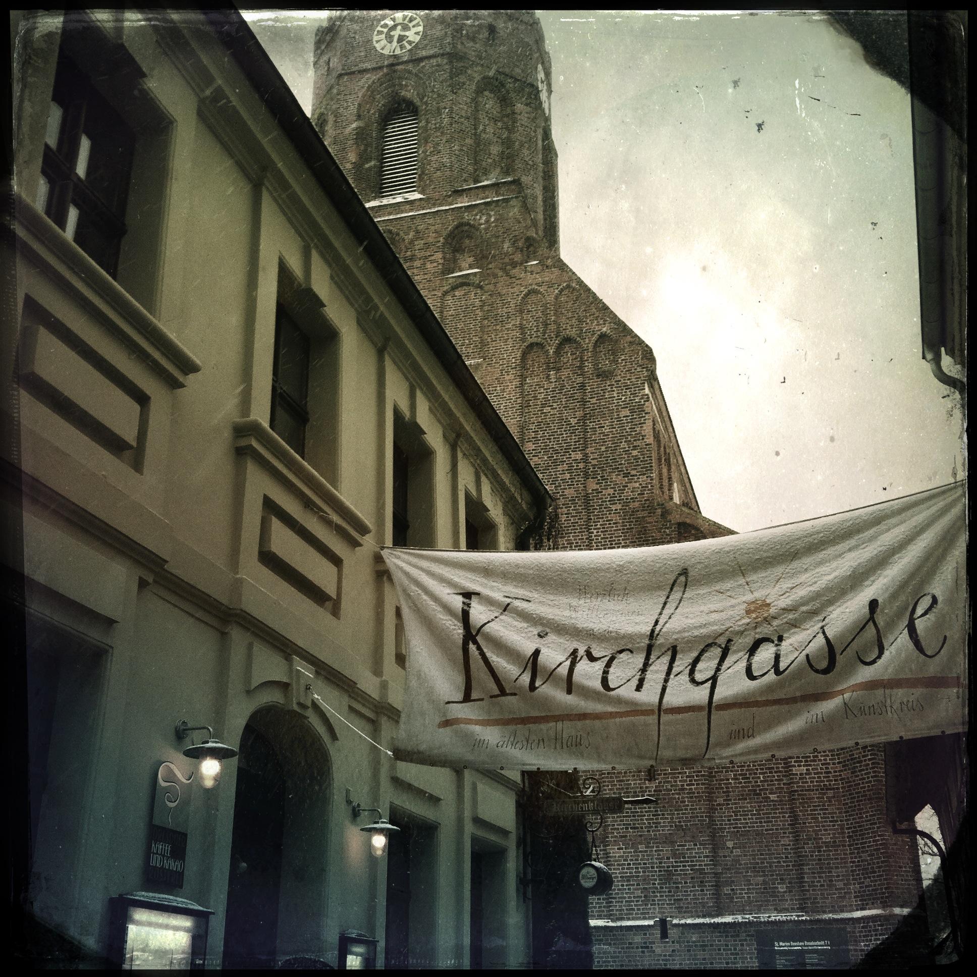 Brandenburg Beeskow l Kirchengasse