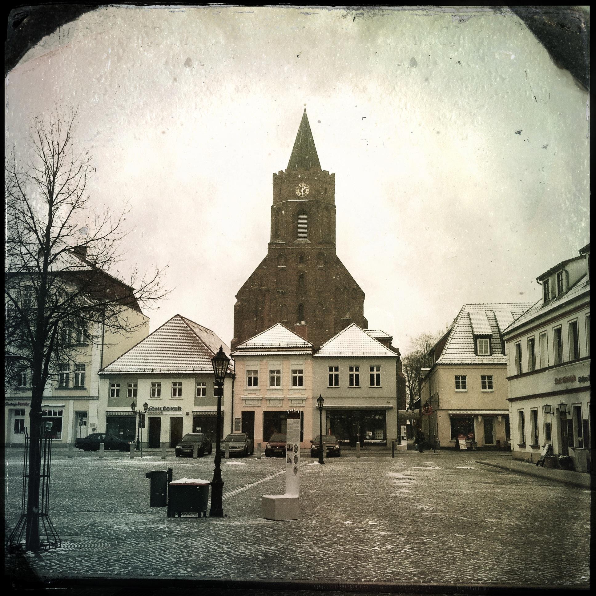 Brandenburg Beeskow l Marktplatz
