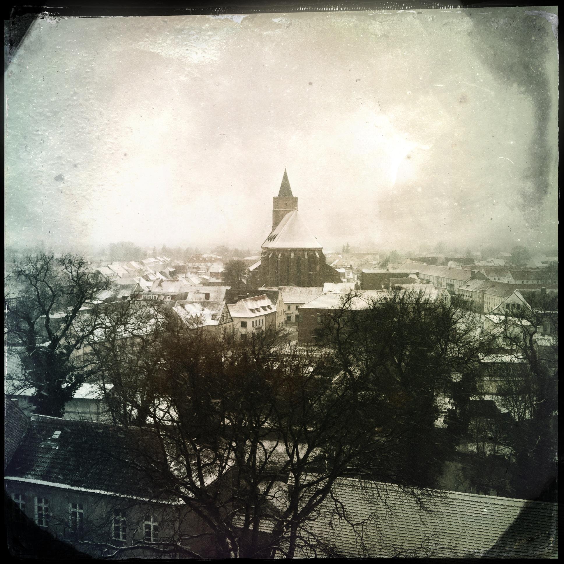 Brandenburg Beeskow l Stadtpanorama