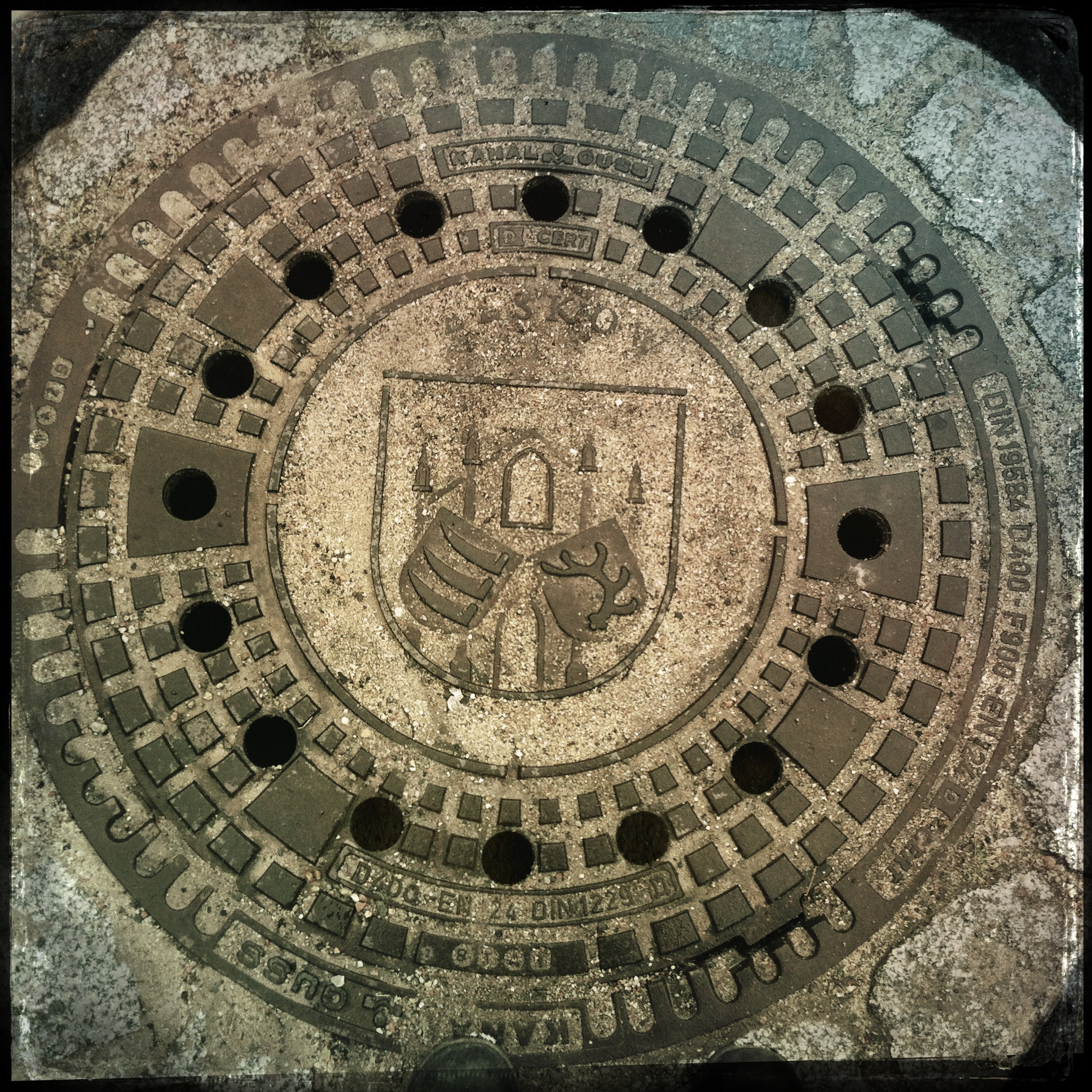 Brandenburg Beeskow l Wappen