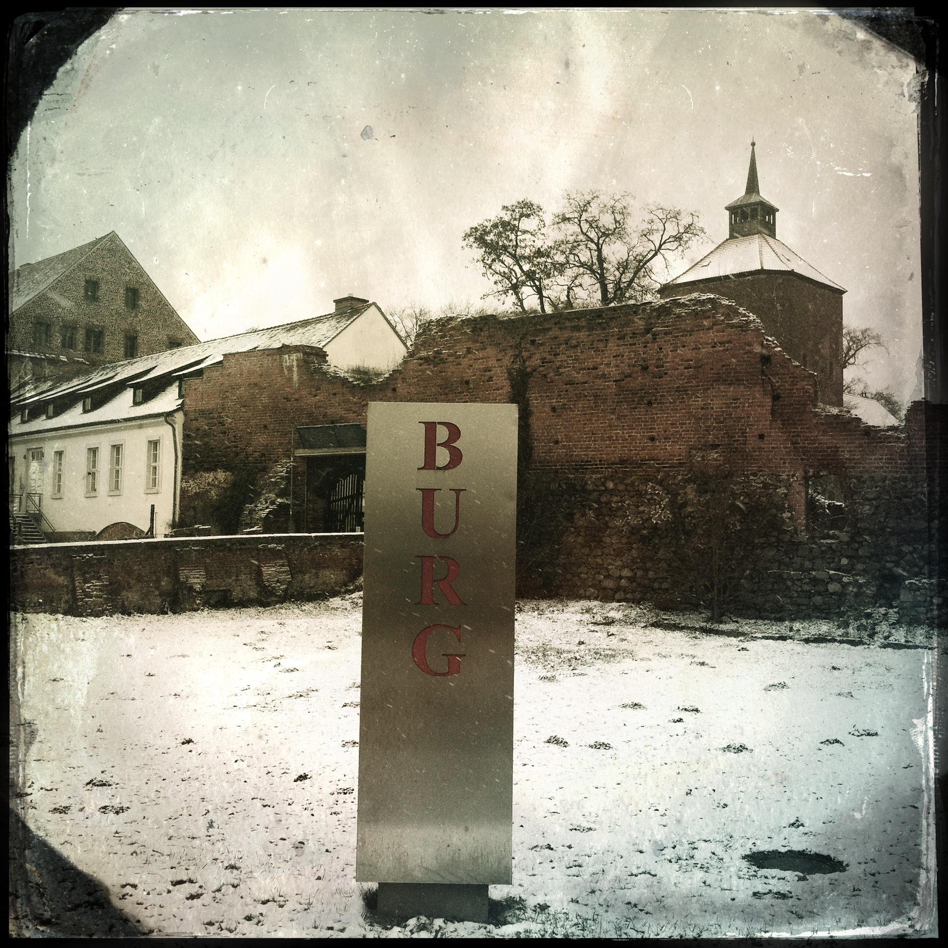 Brandenburg Beeskow l Die Burg
