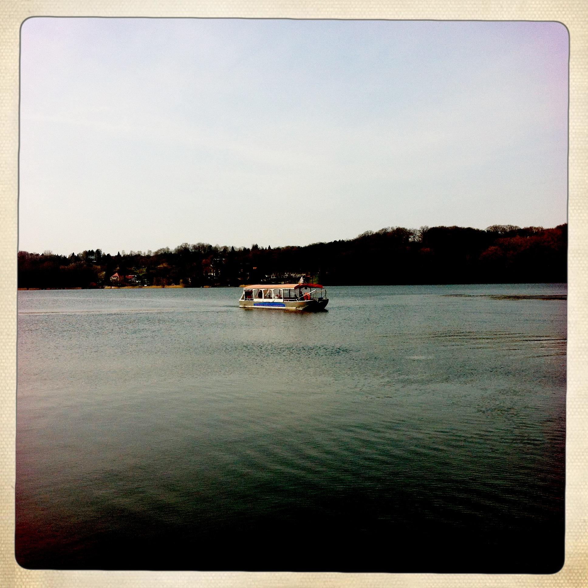 Brandenburg | Buckow | Schermützelsee | Boot auf dem See