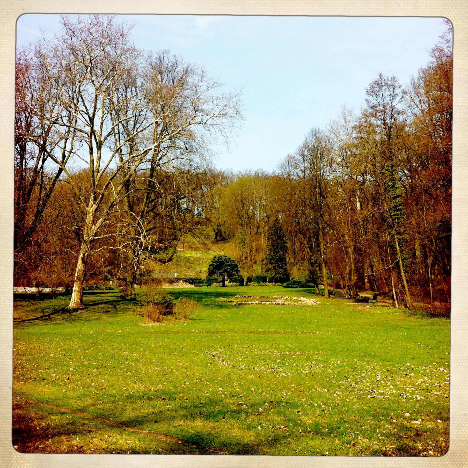 Brandenburg | Buckow | Schlossgarten | Wiese