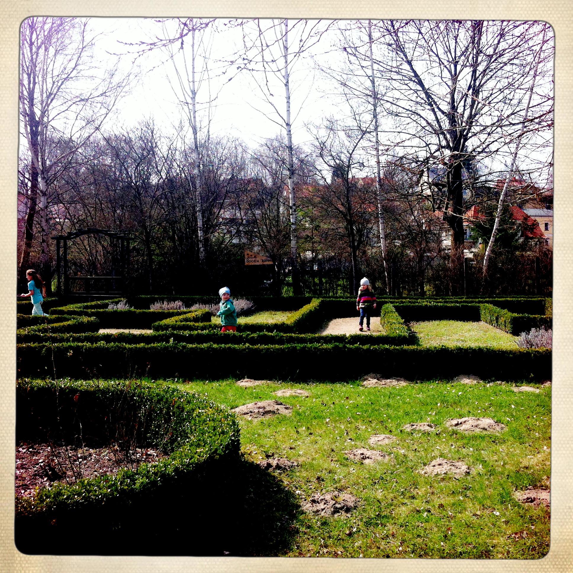 Brandenburg | Buckow | Schossgarten | Labyrinth