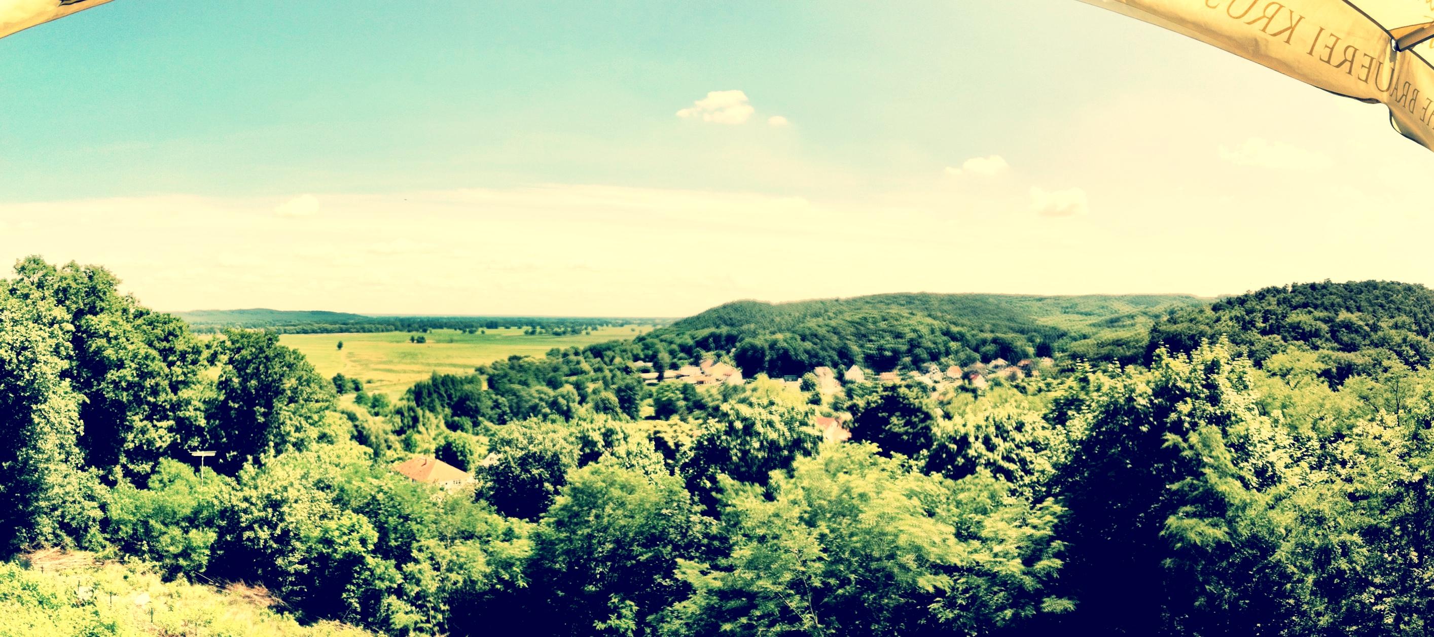 Barnimer Land, Blick von der Carlsburg