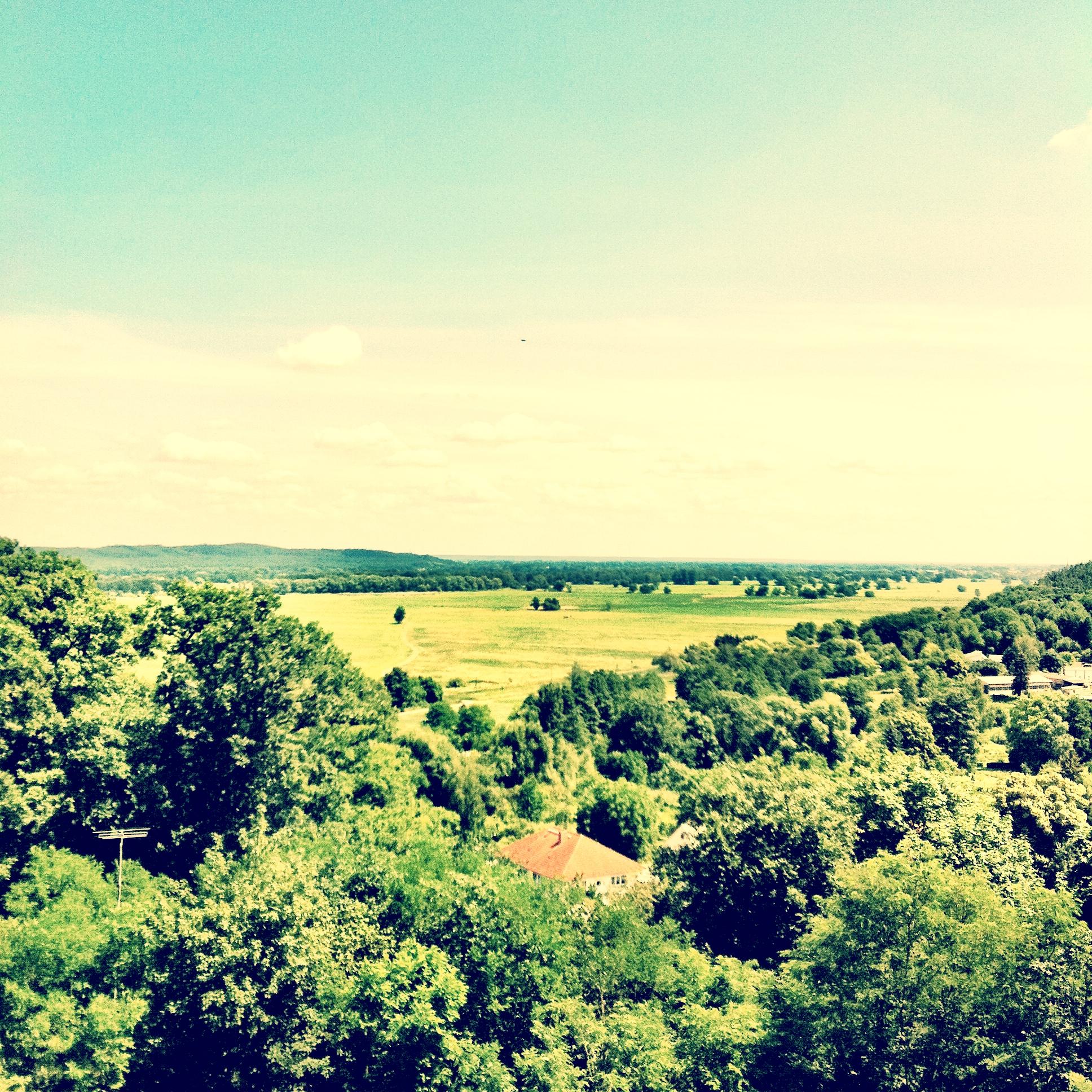Branimer Land, Blick von der Carlsburg