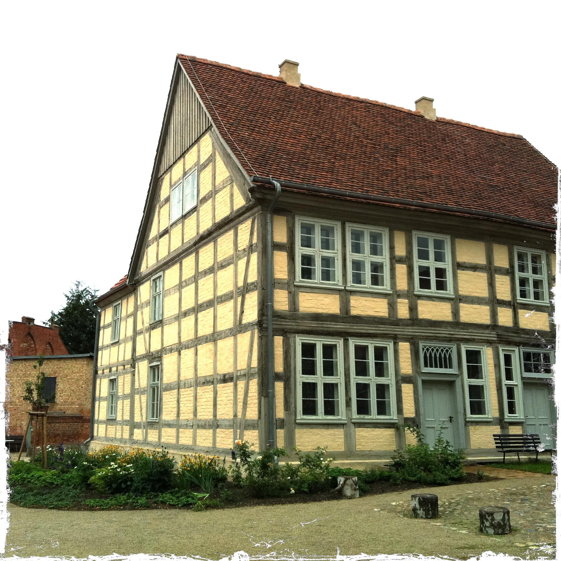 Brandenburg Kloster Stift zum Heiligengrabe I Altes Fachwerkhaus
