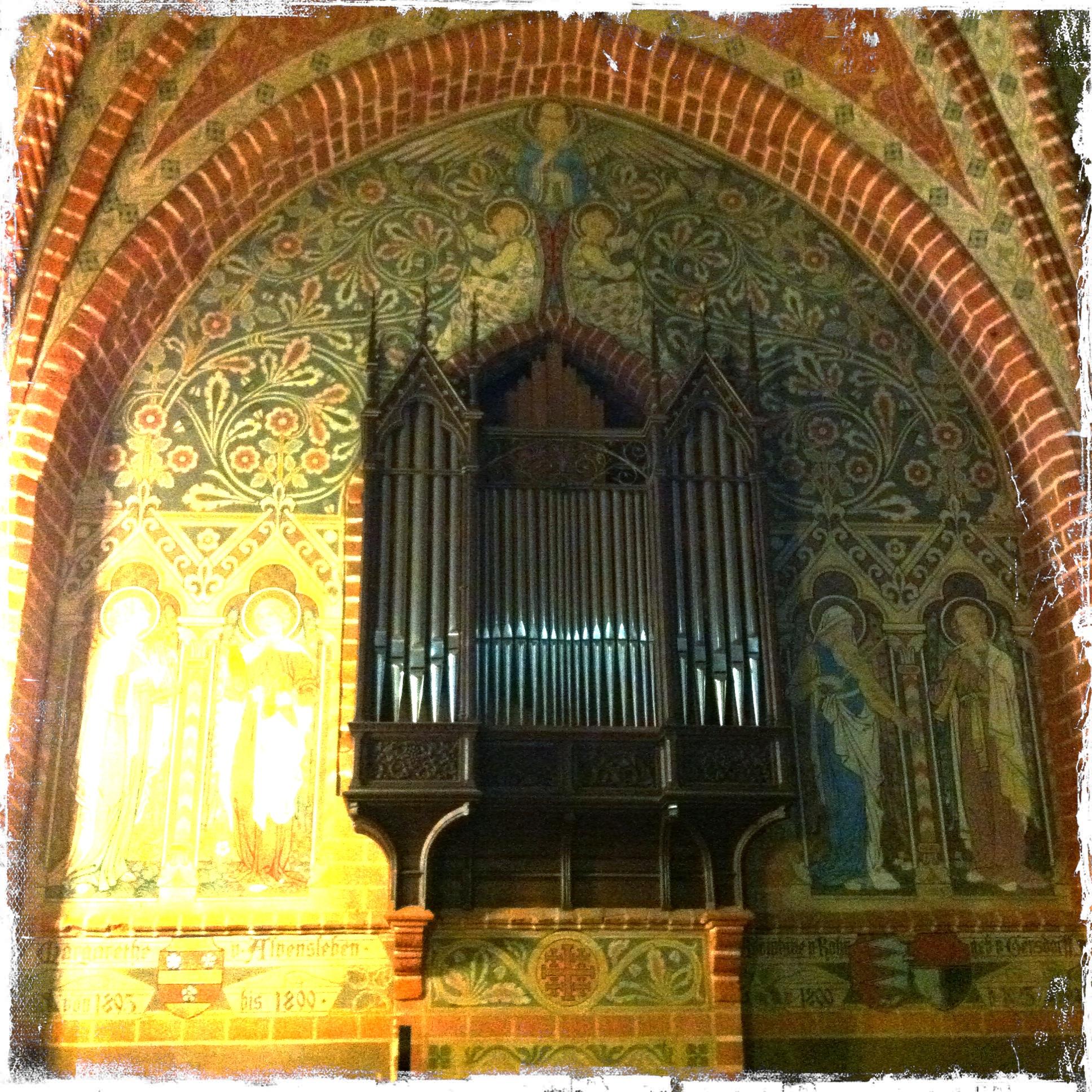 Brandenburg Kloster Stift zum Heiligengrabe I Orgel Heiligengrabekapelle