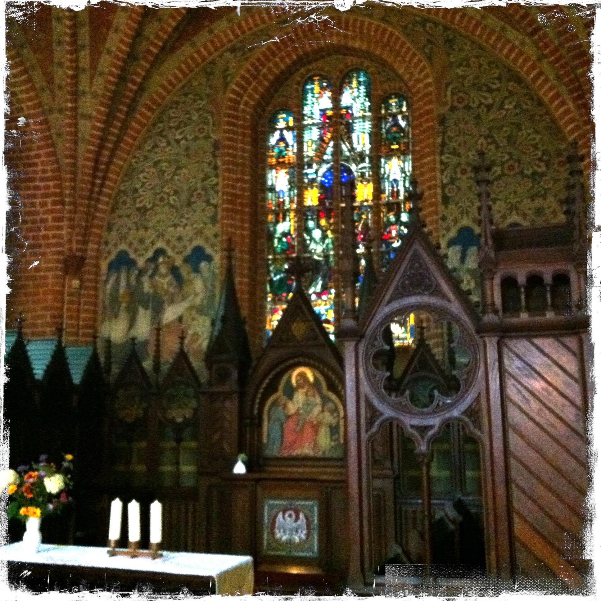Brandenburg Kloster Stift zum Heiligengrabe I Altar Heiligengrabekapelle