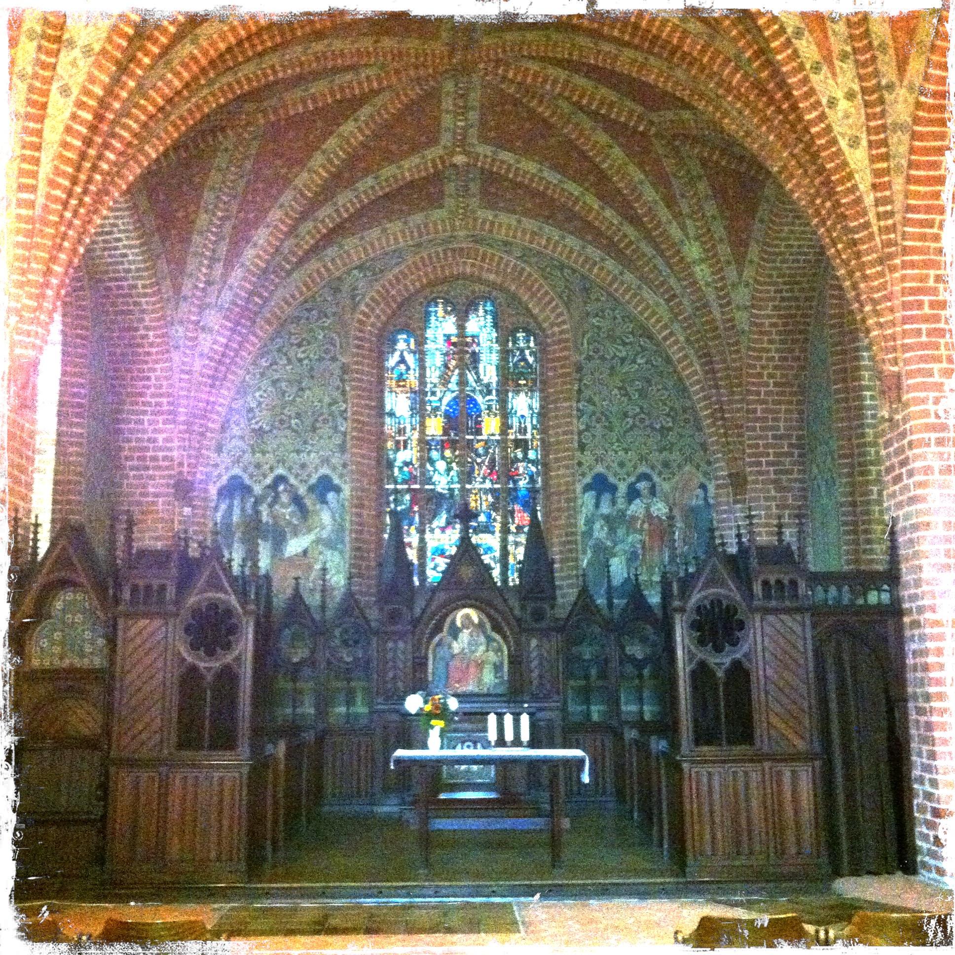 Brandenburg Kloster Stift zum Heiligengrabe I Blick auf den Altar Heiligengrabkapelle