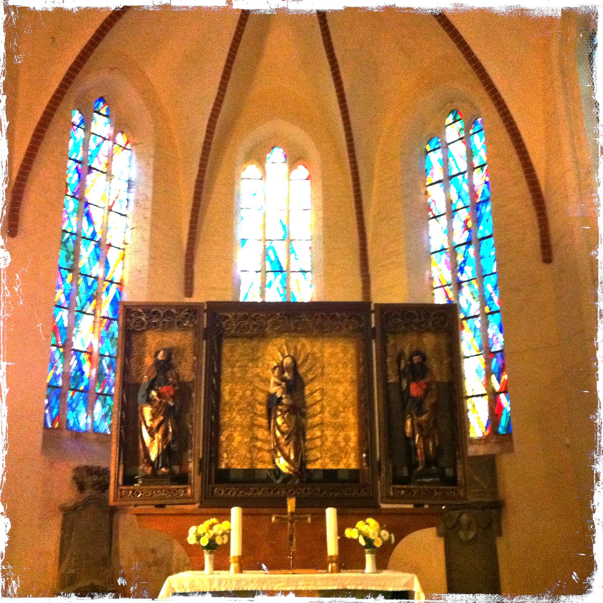 Brandenburg Kloster Stift zum Heiligengrabe I Altar