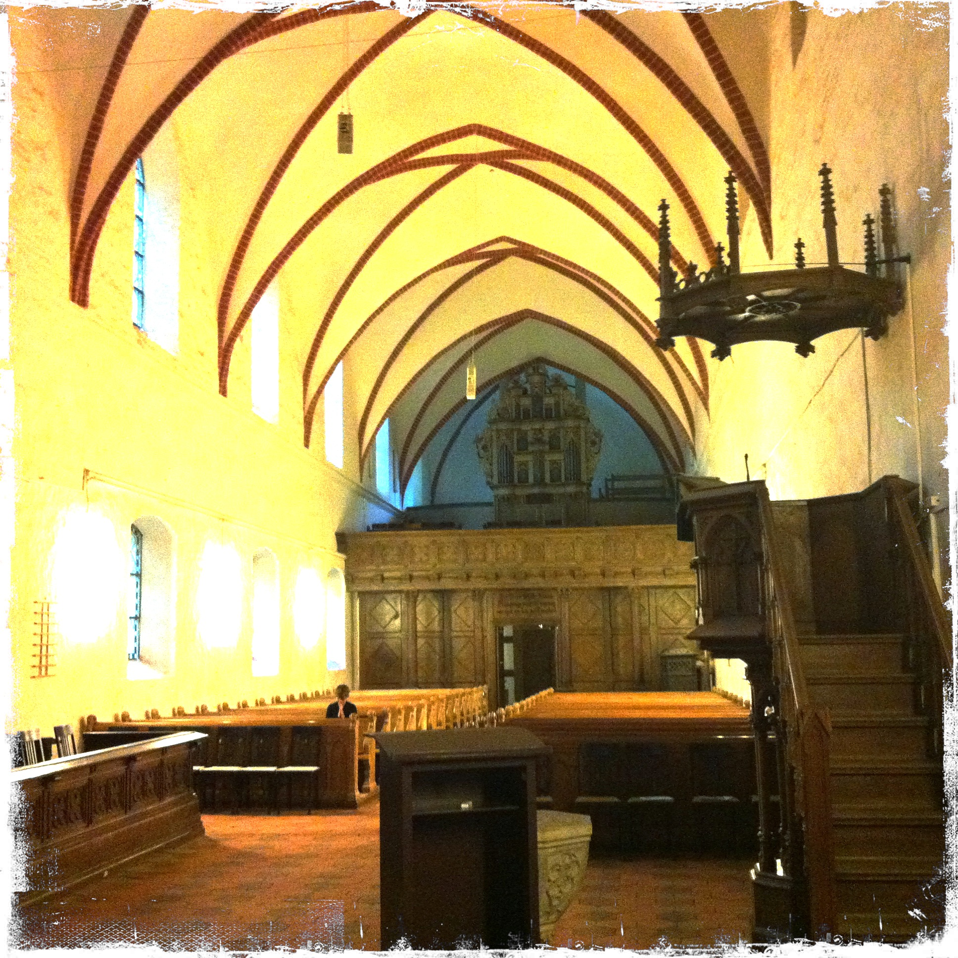 Brandenburg Kloster Stift zum Heiligengrabe I Stiftskirche Innenansicht