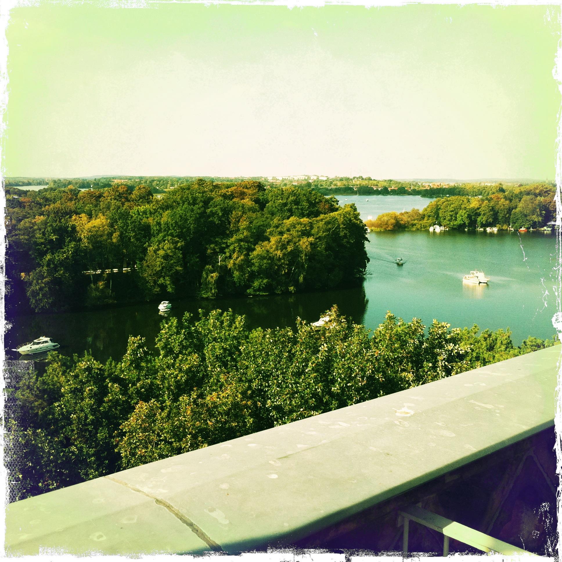 Brandenburg Werder Petzow - Blick vom Kirchturm