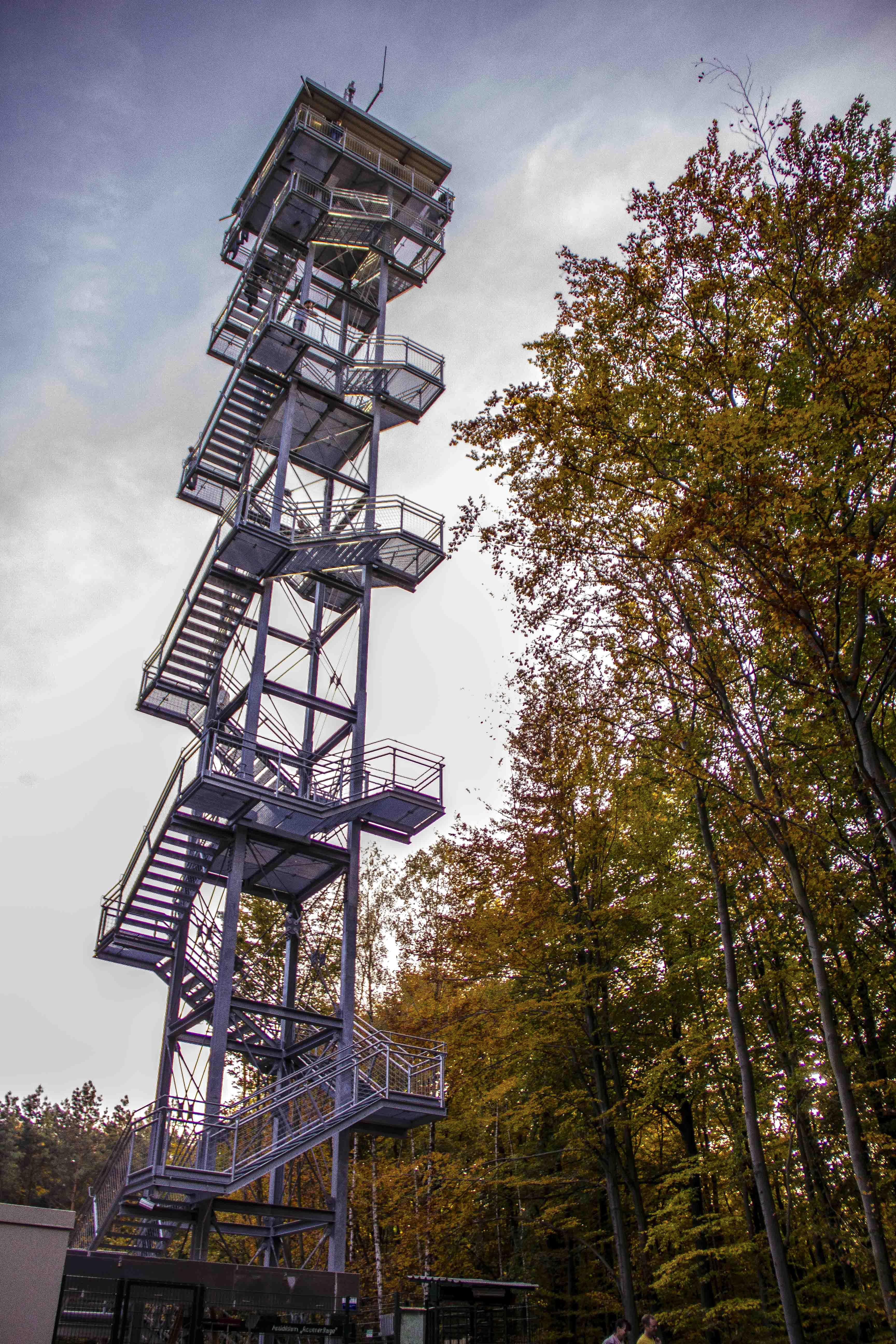 Brandenburg Rauen l Rauener Berge Aussichtsturm
