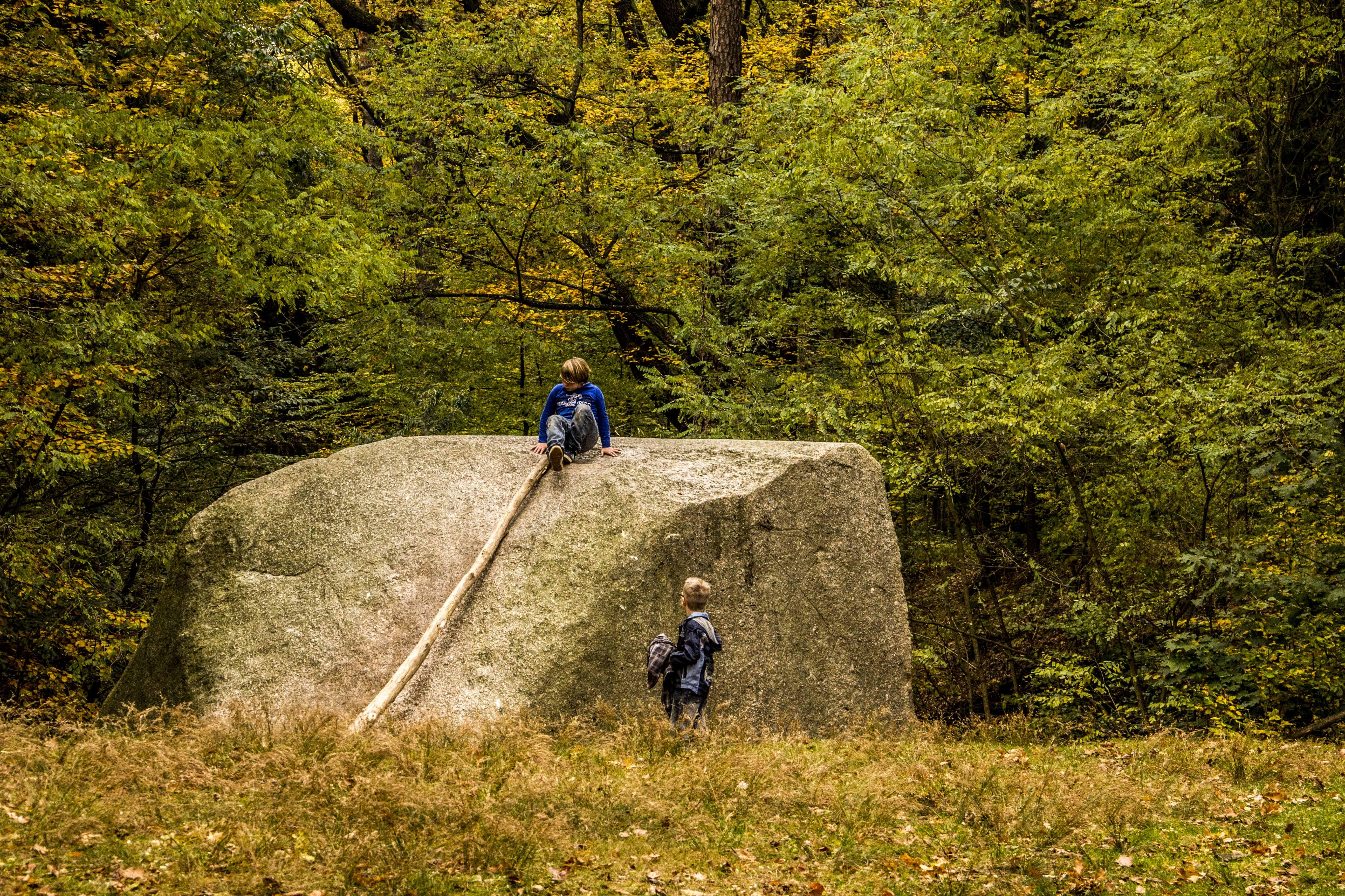 Brandenburg Rauen l Rauener Berge Markgrafensteine