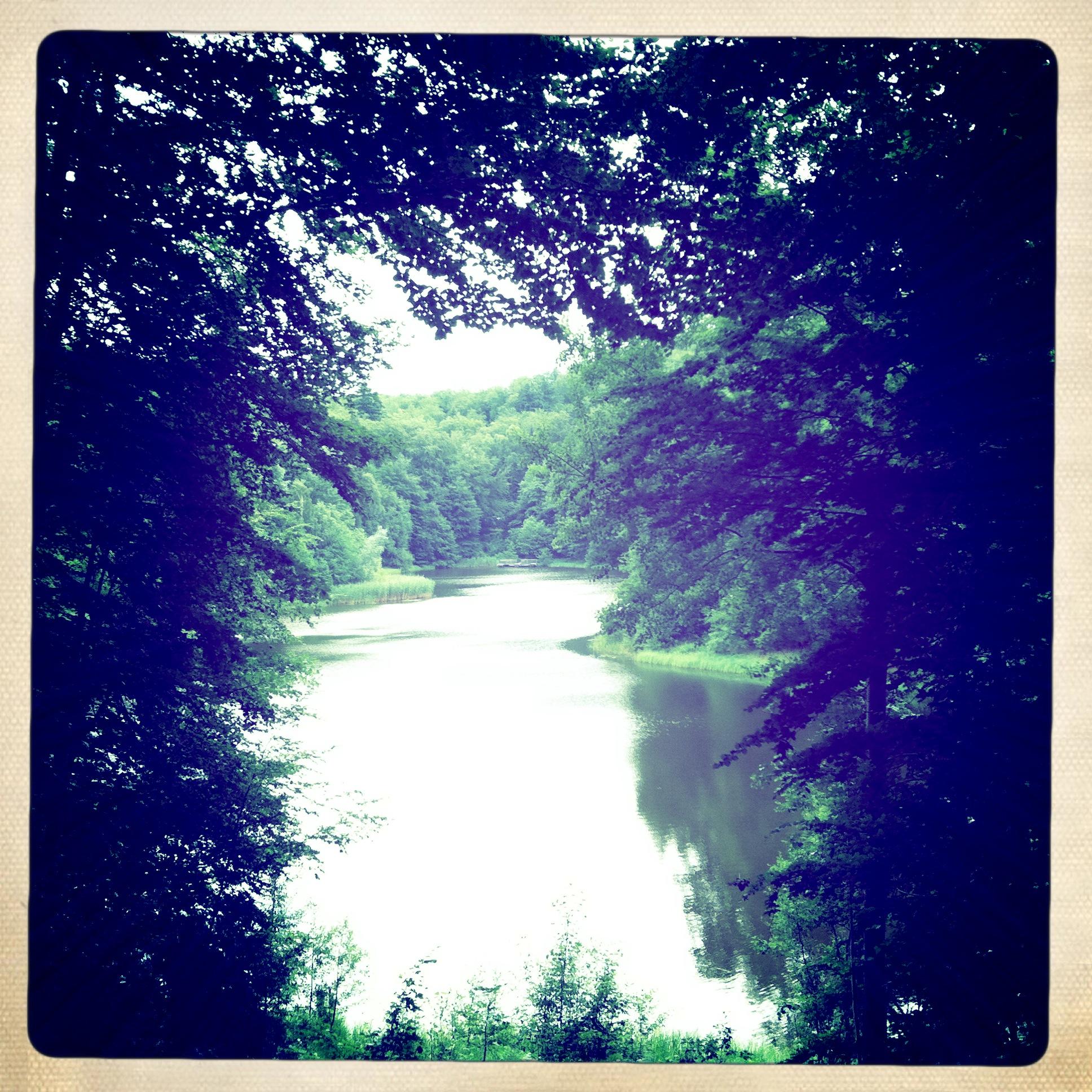 Brandenburg Sonnenburg Baa-See - Der See