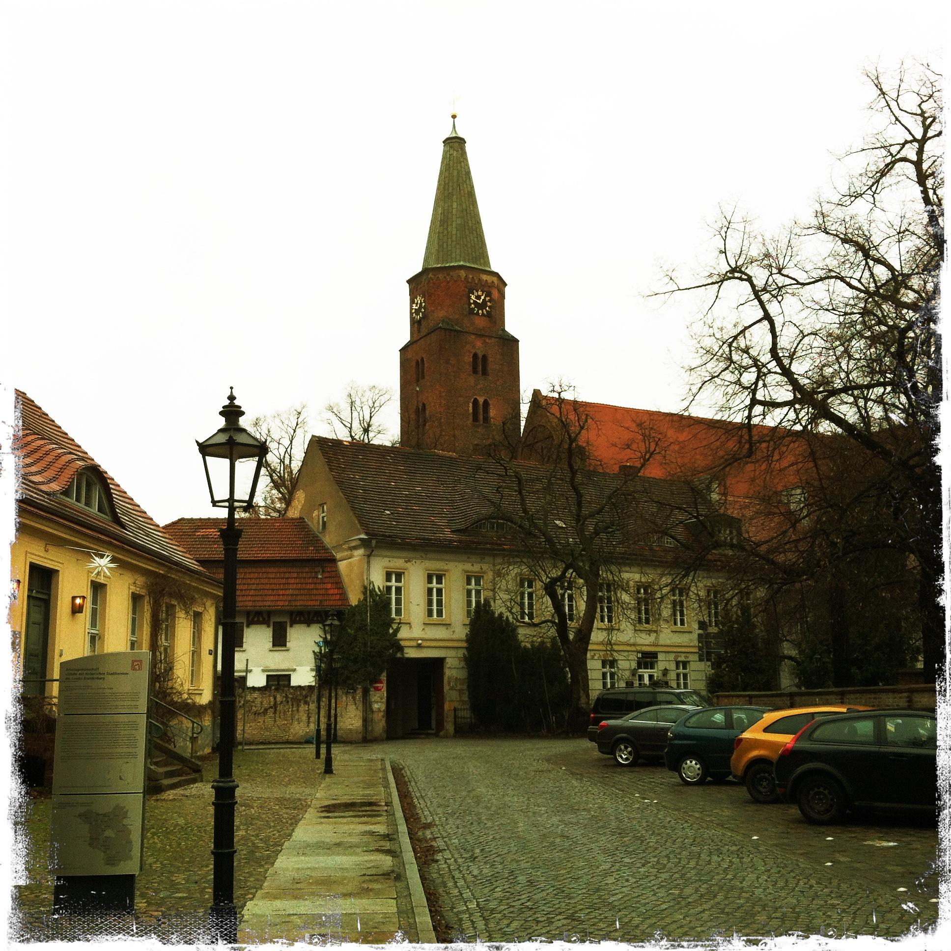 Brandenburg an der Havel l Blick auf den Dom