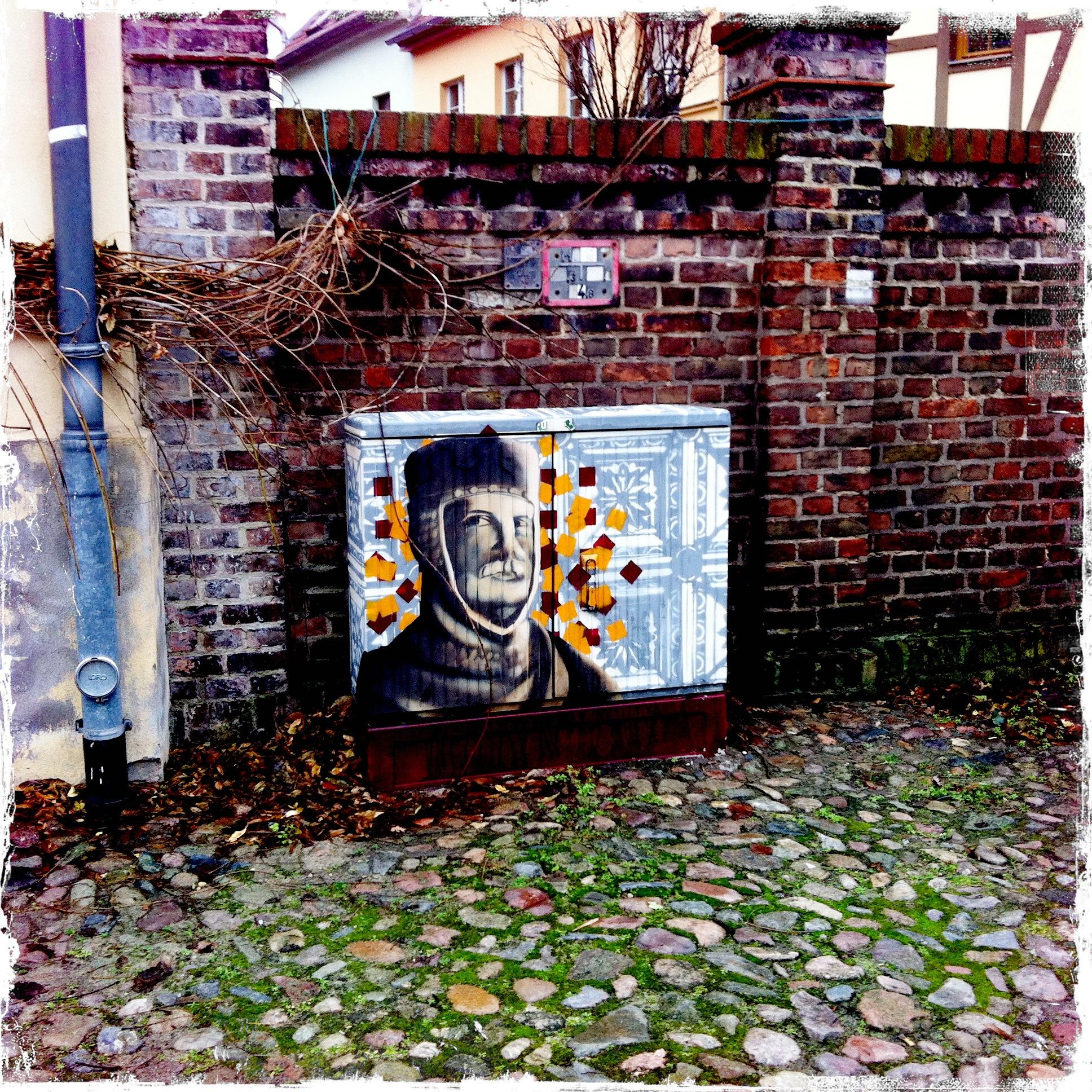 Brandenburg an der Havel l Stromkastenkunst