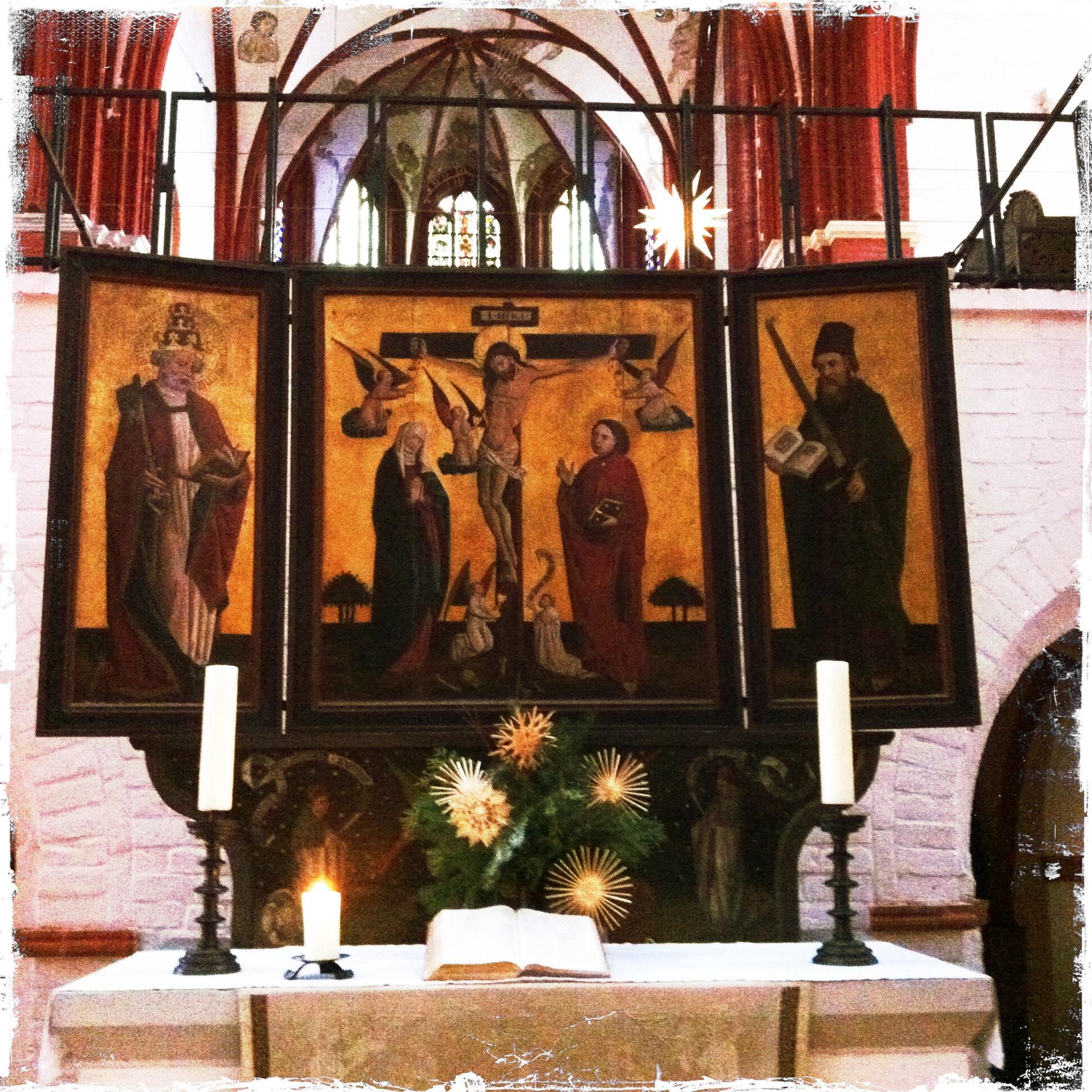 Brandenburg an der Havel l Altar im Dom