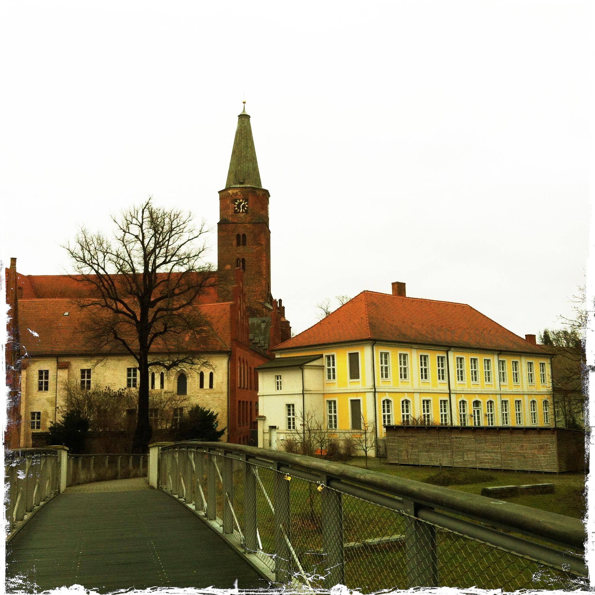 Brandenburg an der Havel l Blick auf die Dominsel