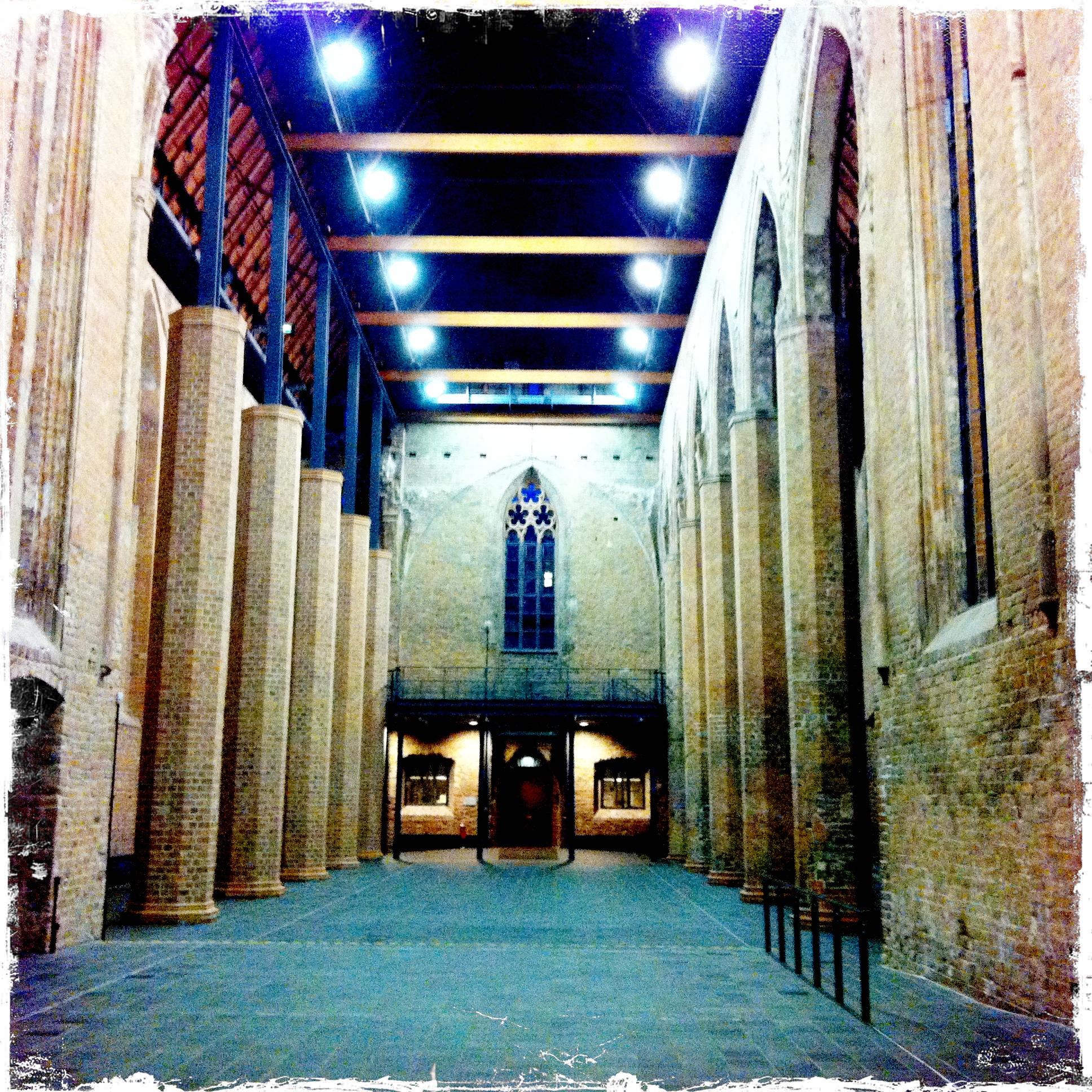 Brandenburg an der Havel l Paulikloster Kirchenschiff