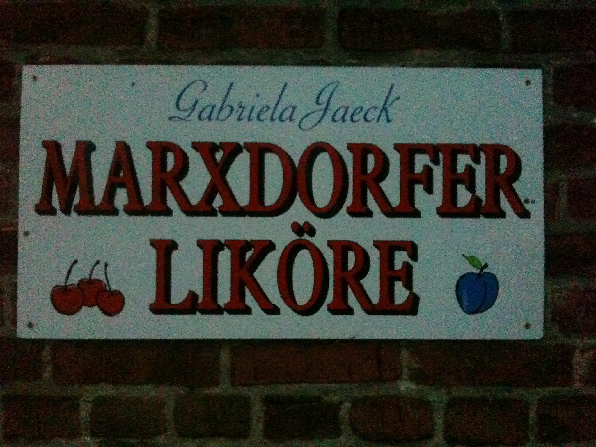Marxdorf-Maxdorfer-Likoere