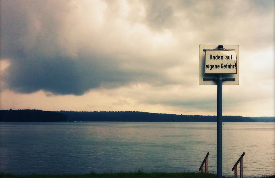 Badeausflug zum Werbellinsee