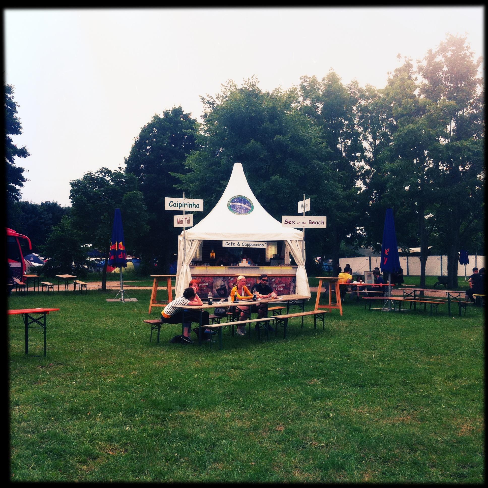 Brandenburg Paaren im Glien Greenville Festival - Zelt
