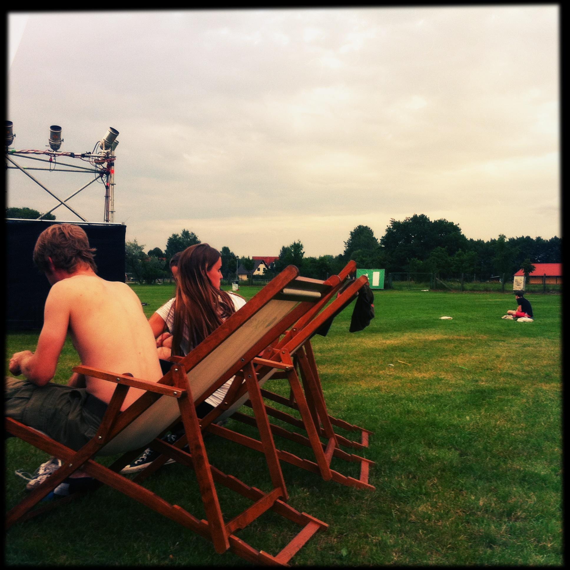 Brandenburg Paaren im Glien Greenville Festival - chillen
