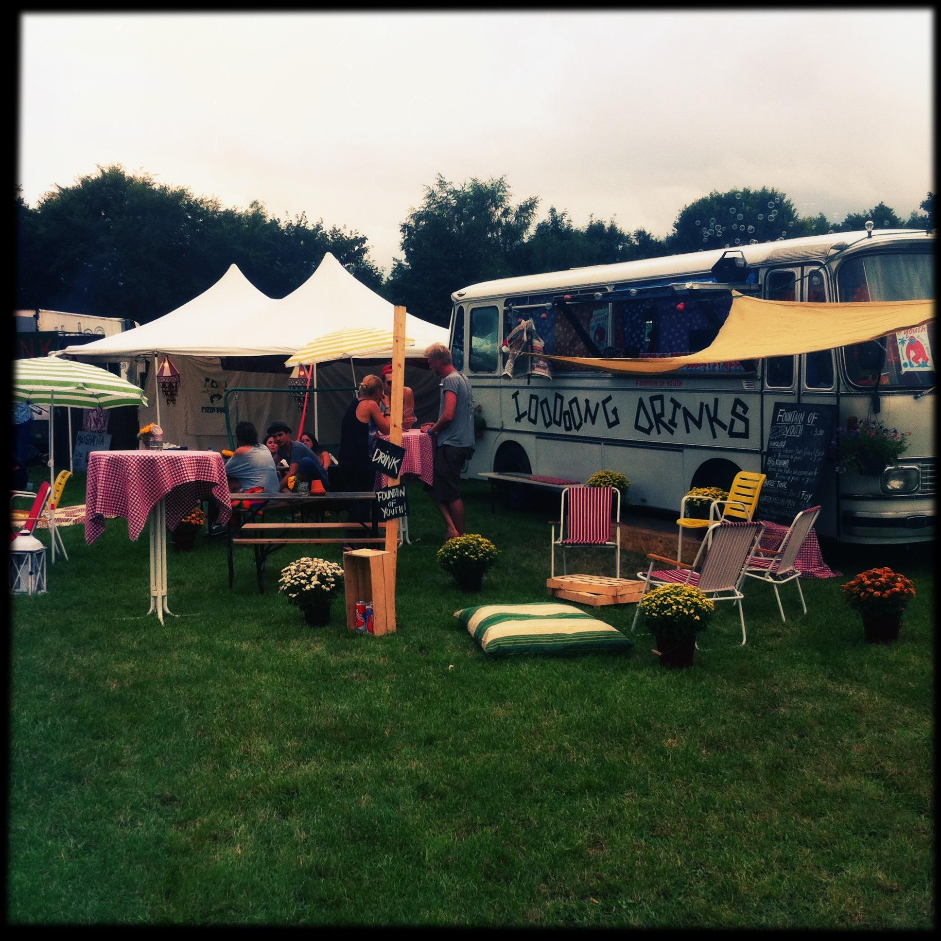 Brandenburg Paaren im Glien Greenville Festival - Michelberger-Bus