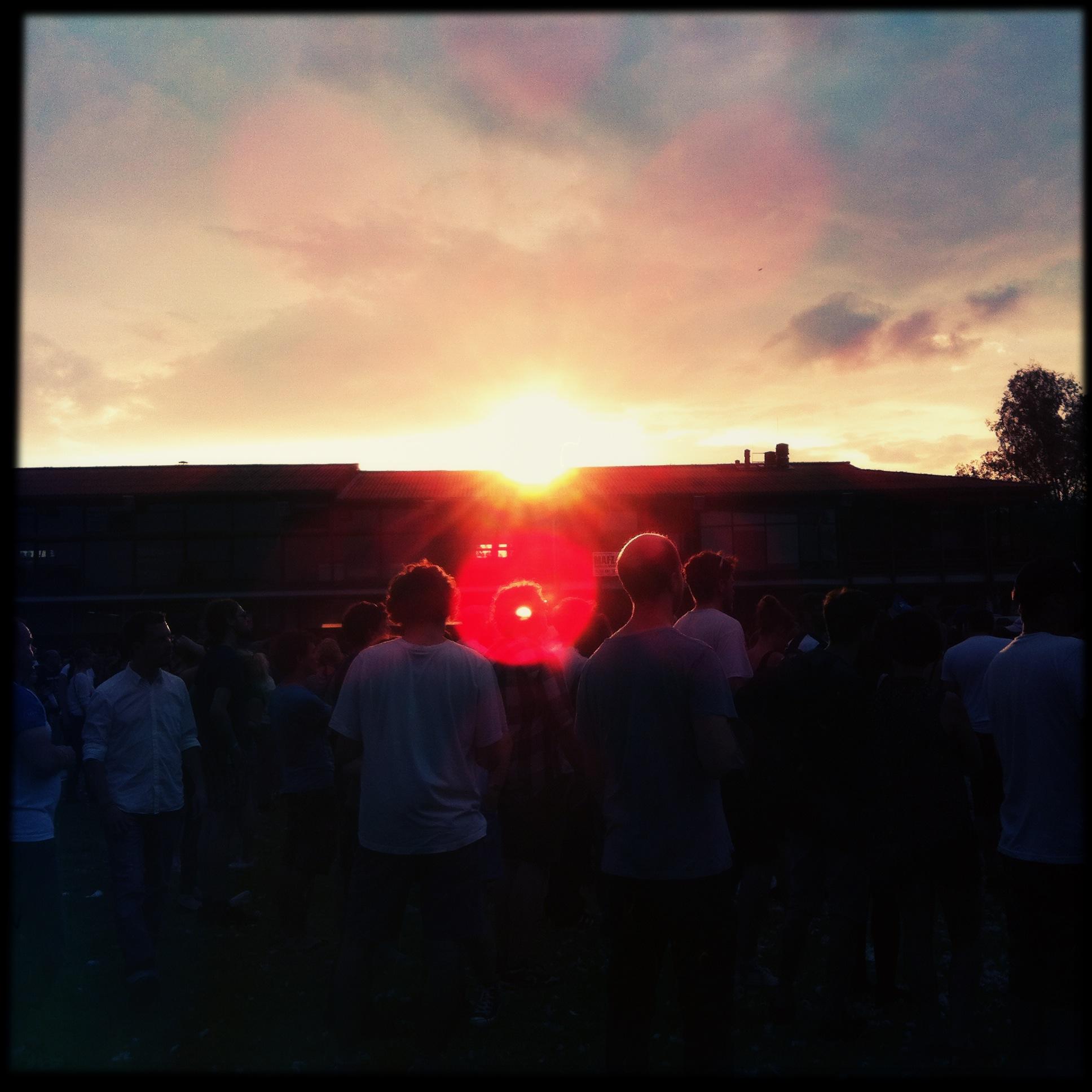 Brandenburg Paaren im Glien Greenville Festival - Sonnenuntergang die Zweite