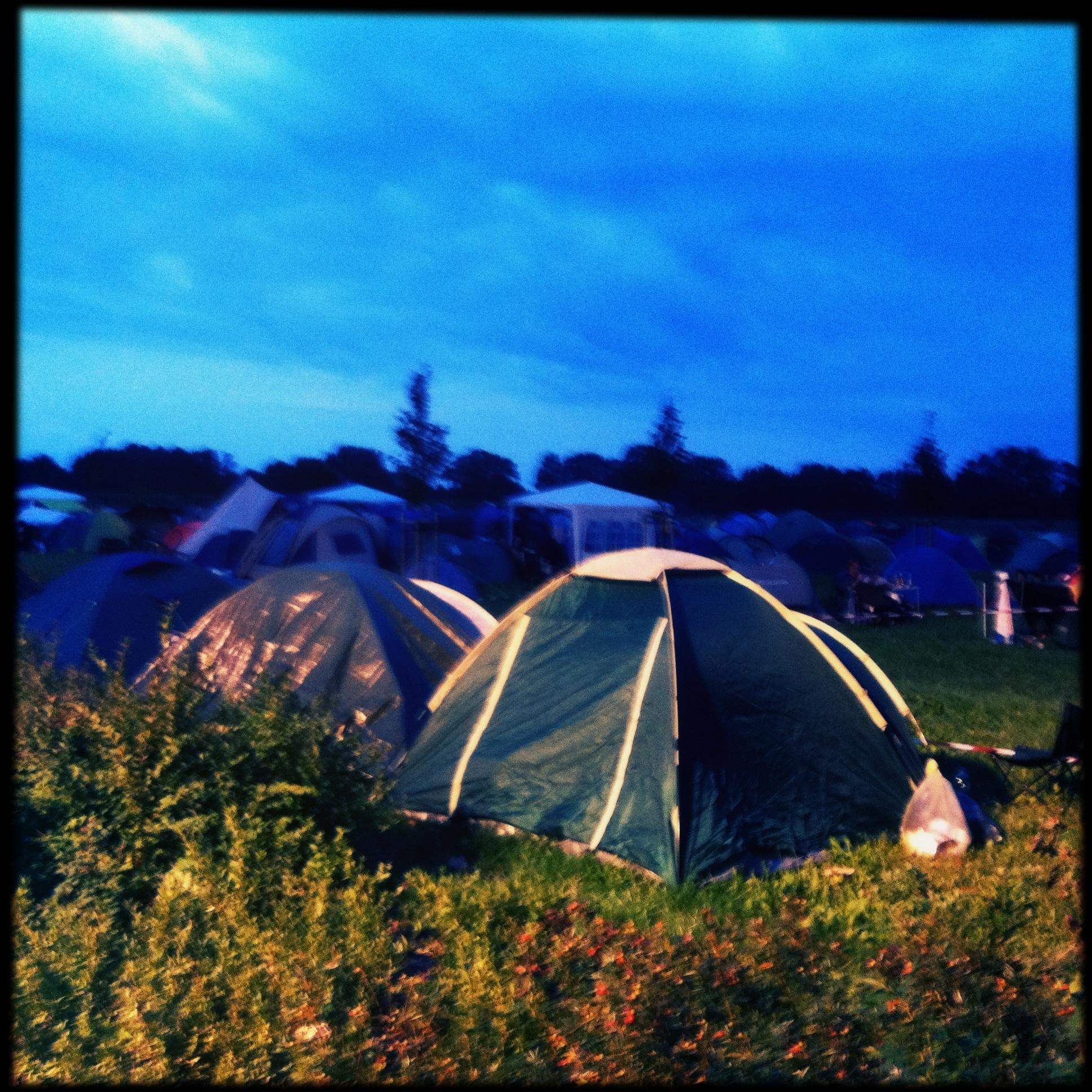 Brandenburg Paaren im Glien Greenville Festival - Zelte