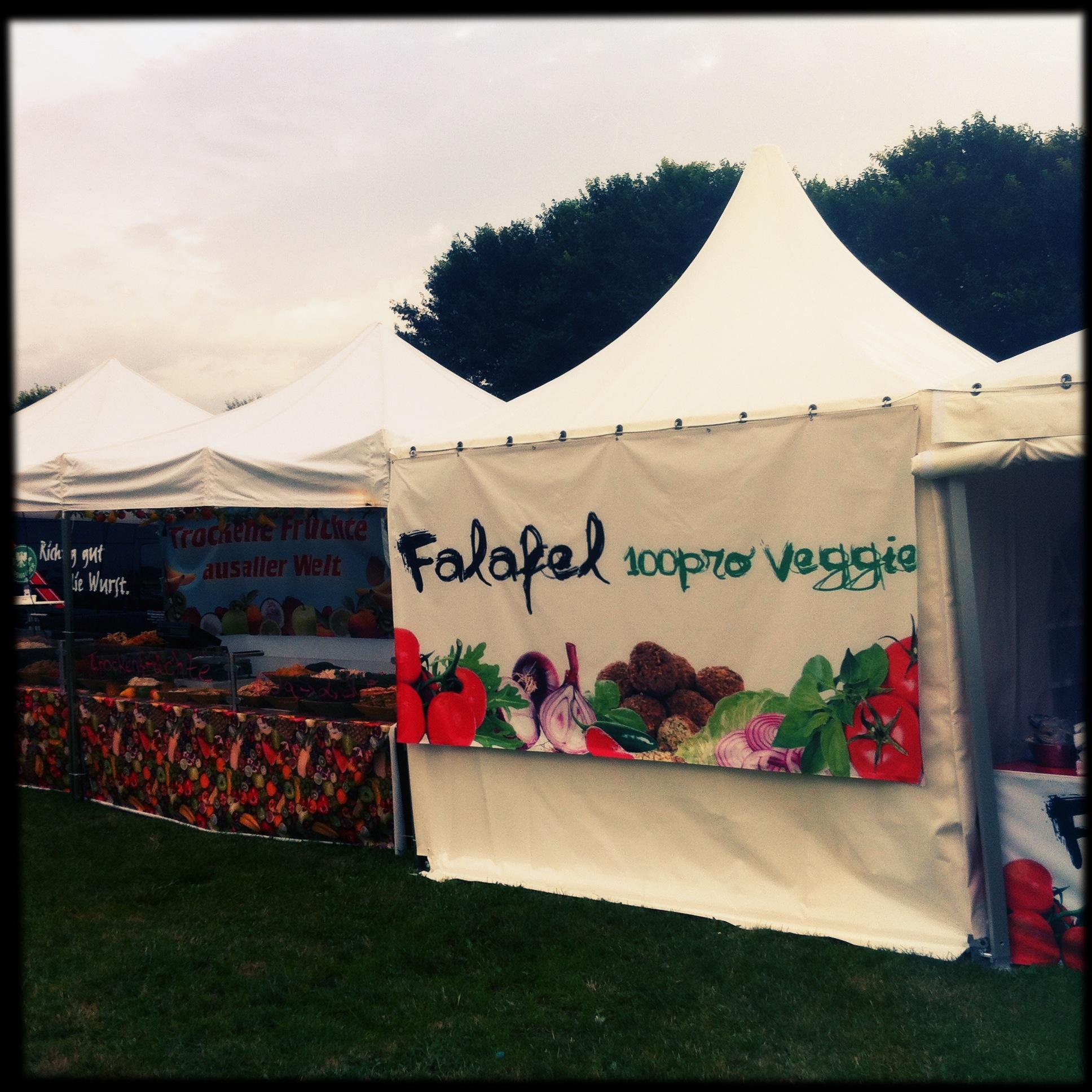 Brandenburg Paaren im Glien Greenville Festival - Falafel