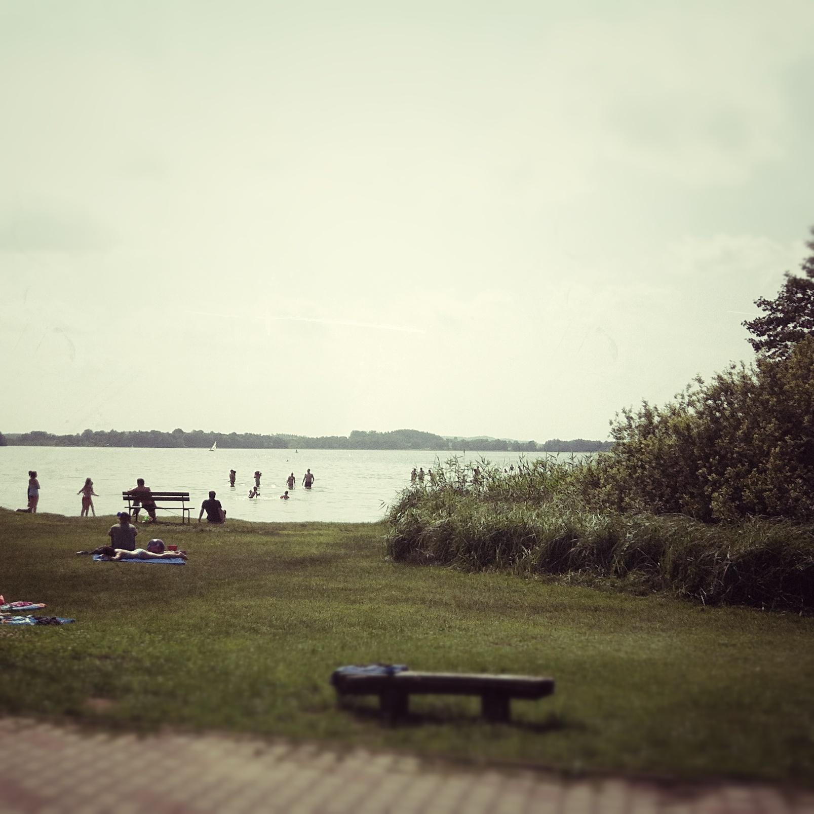 Brandenburg Parsteiner See Strand