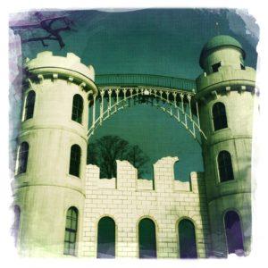Das Schloss auf der Pfaueninsel