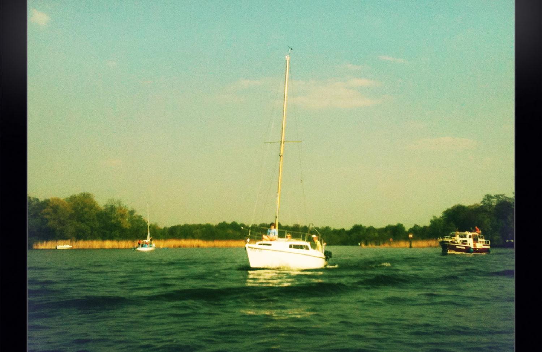 Eine Bootsfahrt auf dem Müggelsee