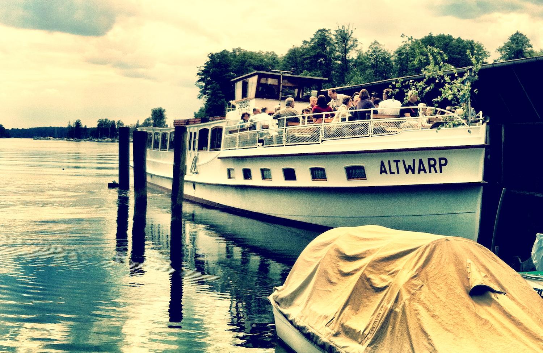 Dampferfahrt auf dem Werbellinsee
